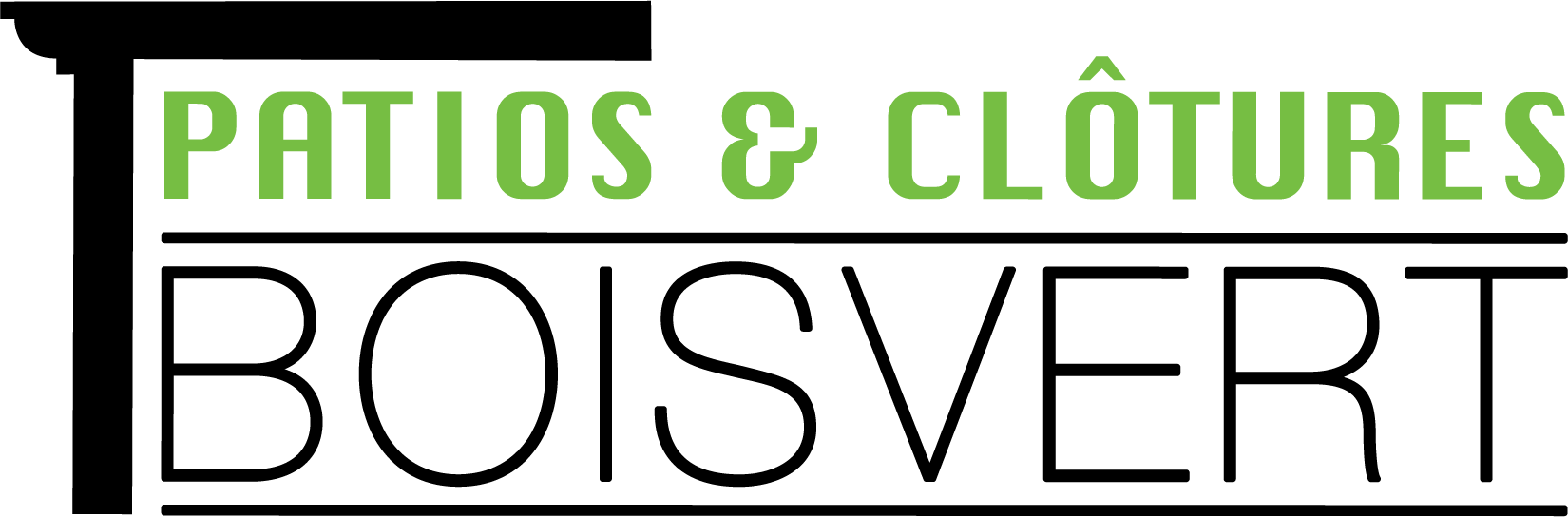 logo_Patios&Clôtures Boisvert-noir